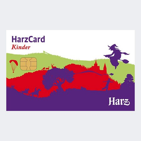 Die HarzCard: 4 Tage - Kinder