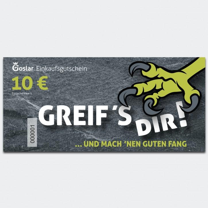 Goslar Einkaufsgutschein 10 Euro