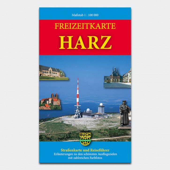 Freizeitkarte Harz