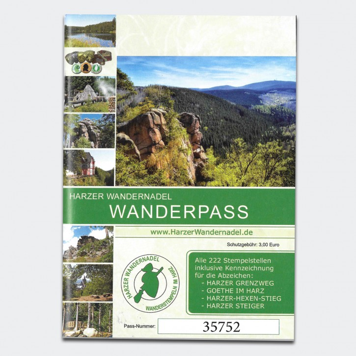 Harzer Wandernadel - Wanderpass