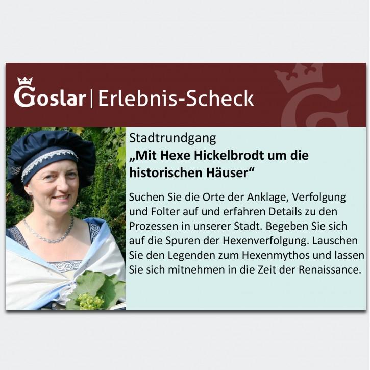 Gutschein - Mit Hexe Hickelbrodt um die historischen Häuser