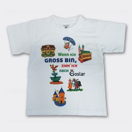 Kinder T-Shirt mit Goslar-Motiven - Sonderpreis