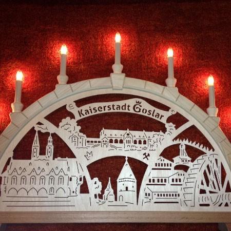 Goslarer Lichterbogen - 9 Kerzen