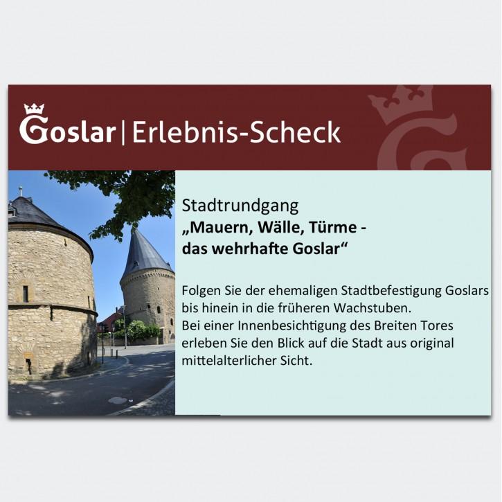 Gutschein - Mauern, Wälle, Türme