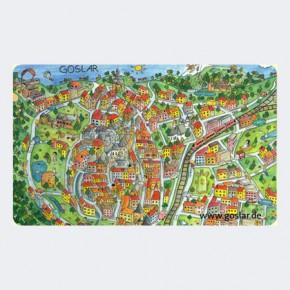 Frühstücksbrettchen Goslar