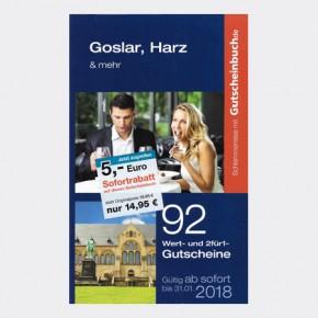 Gutscheinbuch - Goslar, Harz und mehr -Aktionspreis-