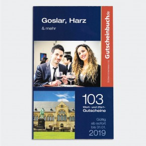 Gutscheinbuch - Goslar, Harz und mehr