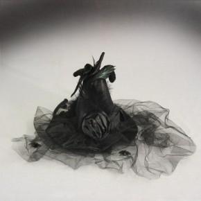 Mini-Hexenhut - schwarz