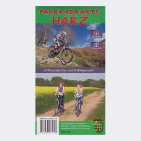 Fahrradkarte Harz - Standard Ausgabe