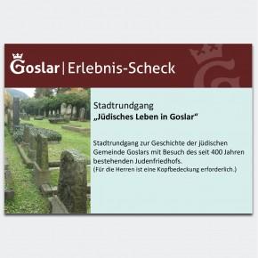 Gutschein - Jüdisches Leben in Goslar