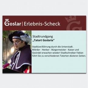Gutschein - Tatort Goslaria