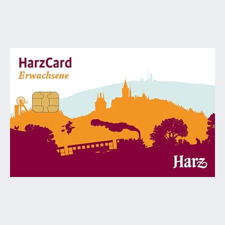 Die HarzCard: 4 Tage - Erwachsene