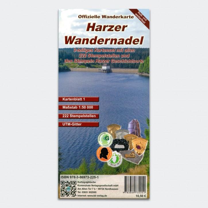 Harzer Wandernadel - Wanderkartenset