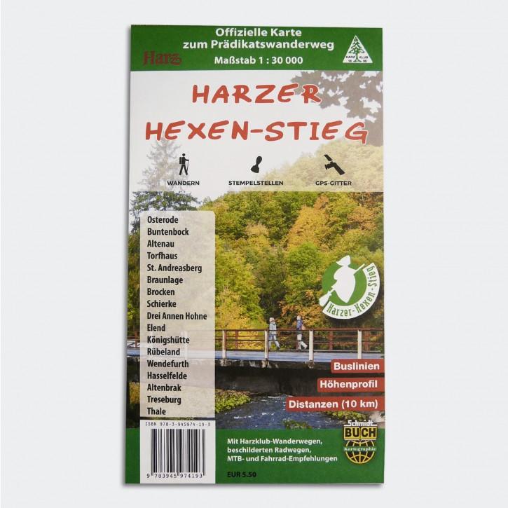 Harzer Hexen-Stieg - Wanderkarte