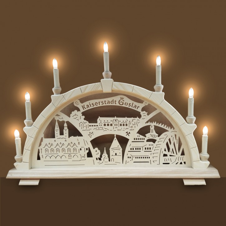 Goslarer Lichterbogen - 7 Kerzen