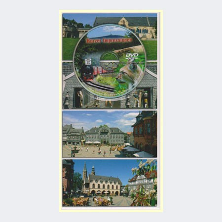 Postkarte mit Mini-DVD