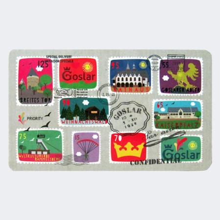 Stamps: Goslar-Frühstücksbrettchen