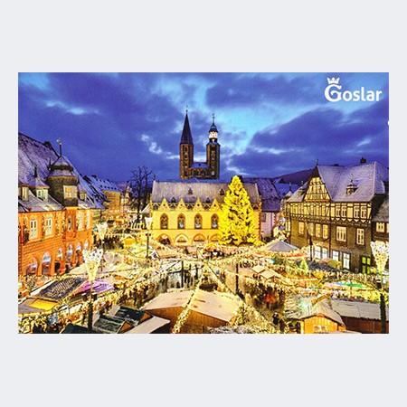 Ansichtskarte Goslarer Weihnachtsmarkt